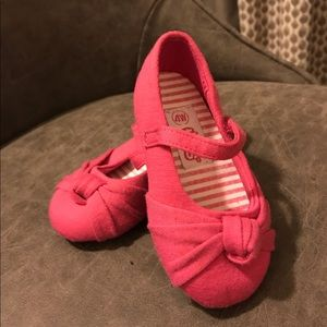Teeny Toes Toddler Pink Ballet Flats